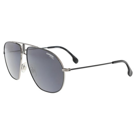 Carrera BOUNDS 0T17-IR Ruthenium Black Matte Black Aviator Sunglasses - 60-12-145