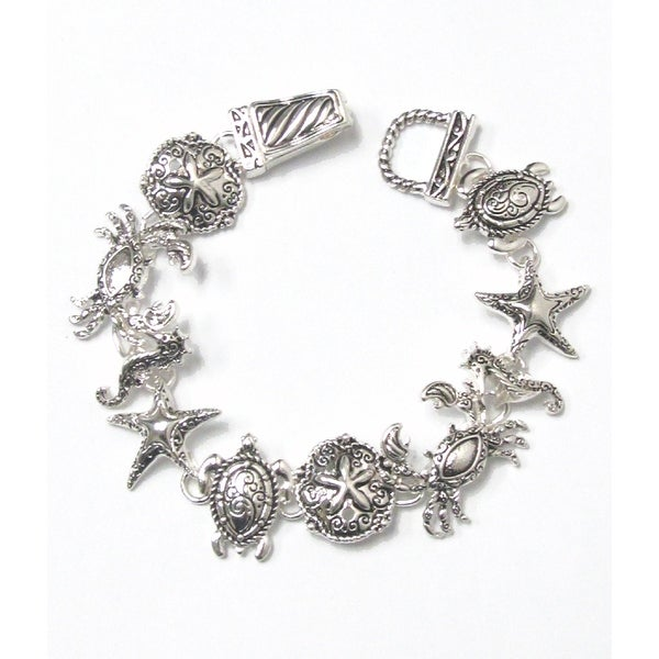 Sea Life Theme Magnetic Bracelet
