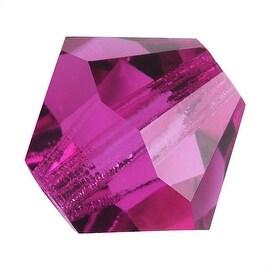 Preciosa Czech Crystal 4mm Bicone Beads 'Fuchsia' (50)