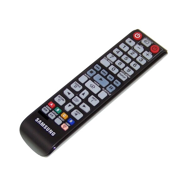 OEM Samsung Remote Originally Shipped With: BDHM57, BD-HM57, BDHM57C, BD-HM57C, BDHM57C/ZA, BD-HM57C/ZA