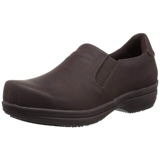 Easy Works Womens Bind Fabric Closed Toe Clogs