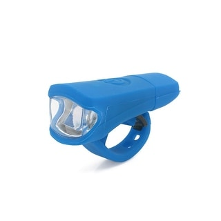 Father  s Day Gift l Universal Blue White Light 3 Modes 2 LED USB Rechargeable Bike Headlight