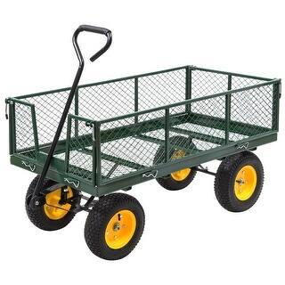 Costway Garden Trolley Cart Yard Garden Wagon 1000LB Heavy Duty Multi-Use 48'' Load Steel https://ak1.ostkcdn.com/images/products/is/images/direct/1a41a98234c99c4dbea3ad4b98c53633438bf86c/Costway-Garden-Trolley-Cart-Yard-Garden-Wagon-1000LB-Heavy-Duty-Multi-Use-48%27%27-Load-Steel.jpg?impolicy=medium