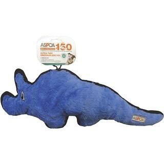 Triceratops-Purple - ASPCA Ultra Tuff Dinosaur Dog Toy