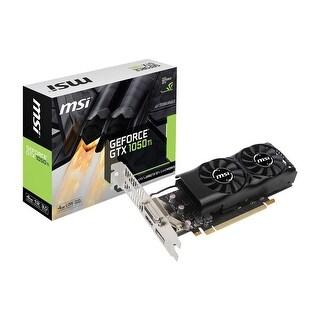 MSI GeForce GTX 1050 Ti DirectX 12 GTX 1050 Ti 4G OC 4GB 128-Bit GDDR5 PCI Express 3.0 x16 HDCP Ready Video Card