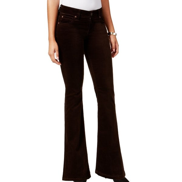 04f2c2a47bbb Kut From The Kloth NEW Chocolate Brown Women Size 6 Natalie Velvet Pants