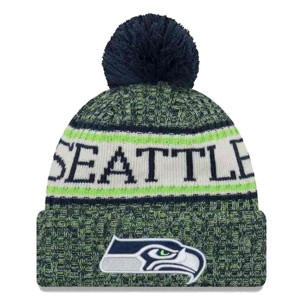 Shop New Era 2018 NFL Seattle Seahawks Sport Stocking Knit Hat Winter Beanie  11768168 - Free Shipping On Orders Over  45 - Overstock - 23042810 cc0e1bb0a