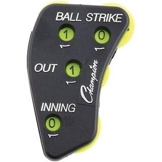Champion Sports Umpire Baseball Indicators (Black)