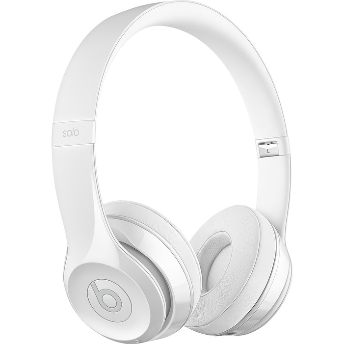 Beats by Dr. Dre - Beats Solo 3 Wireless Headphones - Gloss White White