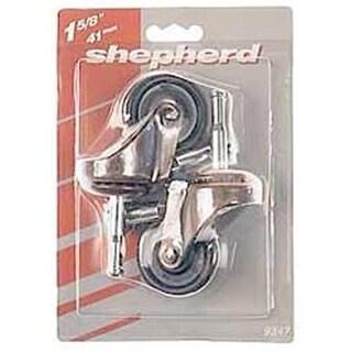 Shepherd 9347 2 Count 1.63 in. Medium Duty Swivel Stem Caster