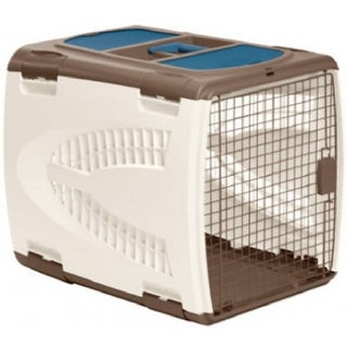 "Suncast PCS2821 Square Portable Pet Carrier, 22.5"" x 20.75"" x 26.5"""