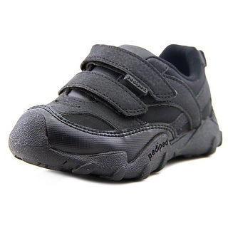 Pediped Flex Canyon Toddler Round Toe Suede Black Water Shoe