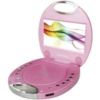 Sylvania  7 in. Portable DVD Players with Integrated Handle - Pink