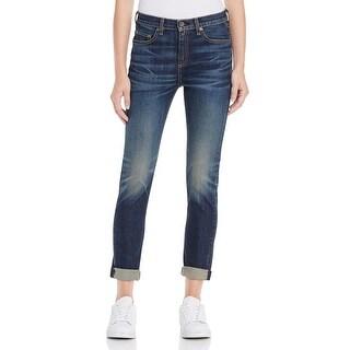 Rag & Bone Womens Slim Jeans Medium Wash Skinny Fit - 27