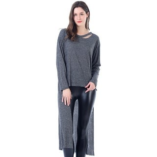 Mad Style Heathered Jersey Drop Tail Jumper