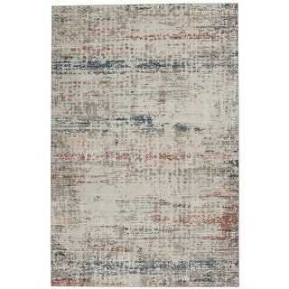 Link to Nourison Rustic Textures Abstract Area Rug Similar Items in Rustic Rugs