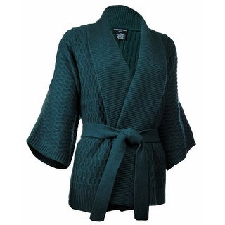 Sutton Studio Women's Kimono Wrap Cardigan Misses