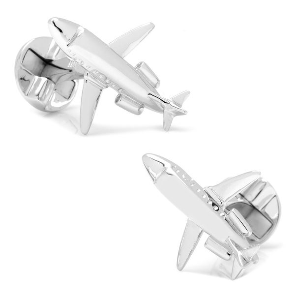 Sterling Private Jet Cufflinks