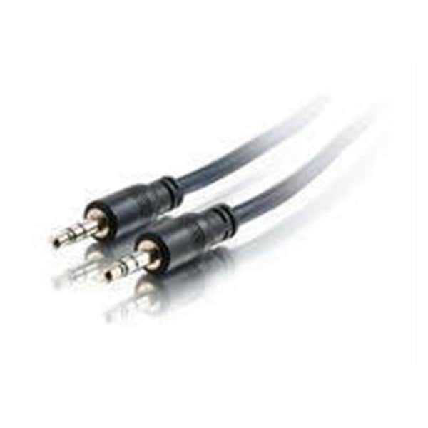 Cables To Go 40517 35Ft Plenum 3.5Mm Stereo M/M Cable