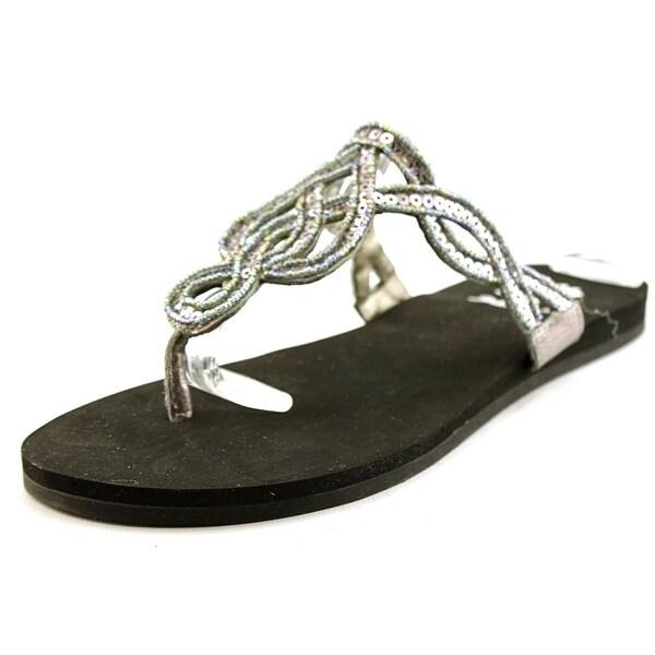 Yellow Box Vasia Women  Open Toe Leather  Slides Sandal