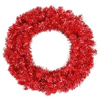 """36"""" Red Wreath Dural LED 100Rd Lts 320T"""
