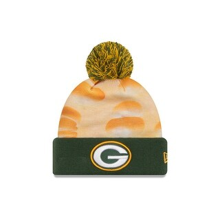 New Era 2016 Green Bay Packers All Out Knit Hat