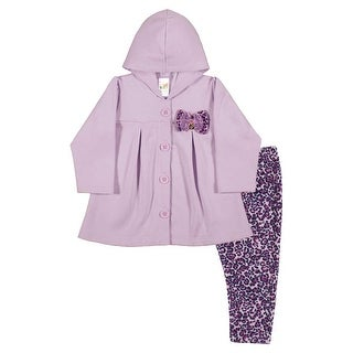 Baby Girl Outfit Coat and Leggings Set Newborn Infant Pulla Bulla 3-12 Months