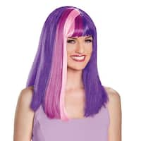 Twilight Sparkle Costume Wig Adult Costume - Purple