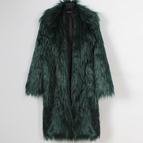 Women Fur Coat Suit Plush Coats New Artificial Faux Fur Coat