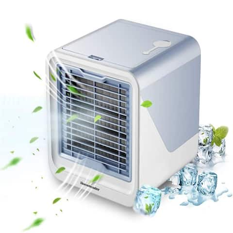 Portable Air Cooler, Mini Air Conditioner Fan Office Cooler Humidifier - 50 x 84