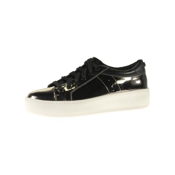 83e03182ceb Steve Madden Womens Bertie-M Fashion Sneakers Patent Platform - 10 medium  (b