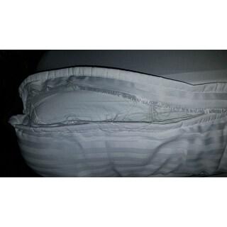 Rest Remedy Luxury Stripe Mattress Enhancer