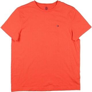 Tommy Hilfiger Mens Crewneck Signature T-Shirt