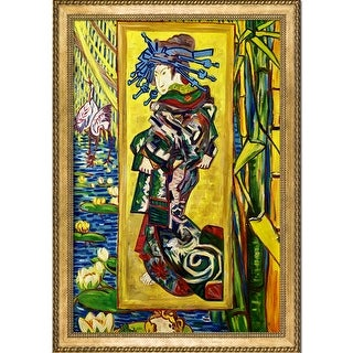 Vincent Van Gogh 'The Courtesan' Hand Painted Oil Reproduction