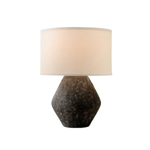 Troy Lighting Artifact 1-light Graystone Table Lamp