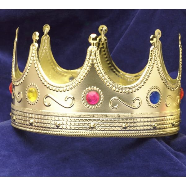 Regal King Adult Costume Crown