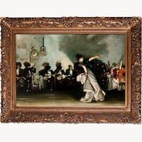 El Jaleo by John Singer Sargent Framed Hand Painted Oil on Canvas