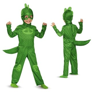 Toddler PJ Masks Classic Gekko Costume (2 options available)