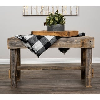 Link to Del Hutson Designs Handmade Barnwood Bench Similar Items in Living Room Furniture
