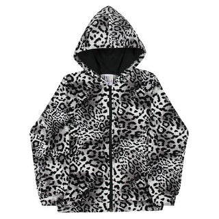 Girls Hoodie Jacket Cheetah Print Kids Sweater Pulla Bulla Sizes 2-10 Years