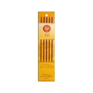 "Boye Knit Needle 7"" Double Point Aluminum Size 0"