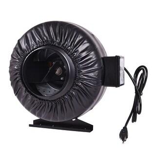 Costway 6'' Inch Inline Fan Hydroponics Exhaust Fan Duct Cooling Fan Strong CFM