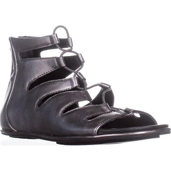 Kenneth Cole Ollie Gladiator Sandals, Anthracite - 8 us / 39 eu