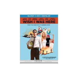 WISH I WAS HERE (BLU RAY/DVD W/DIGITAL HD/ULTRAVIOLET) (2DISCS)