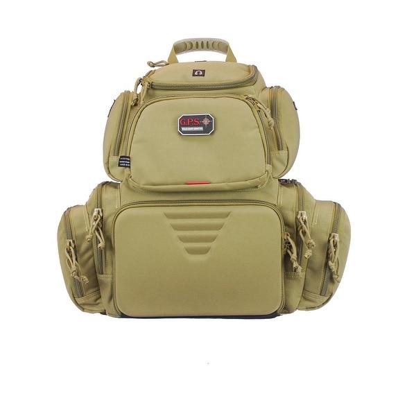G.P.S. Handgunner Backpack Tan GPS-1711BPT
