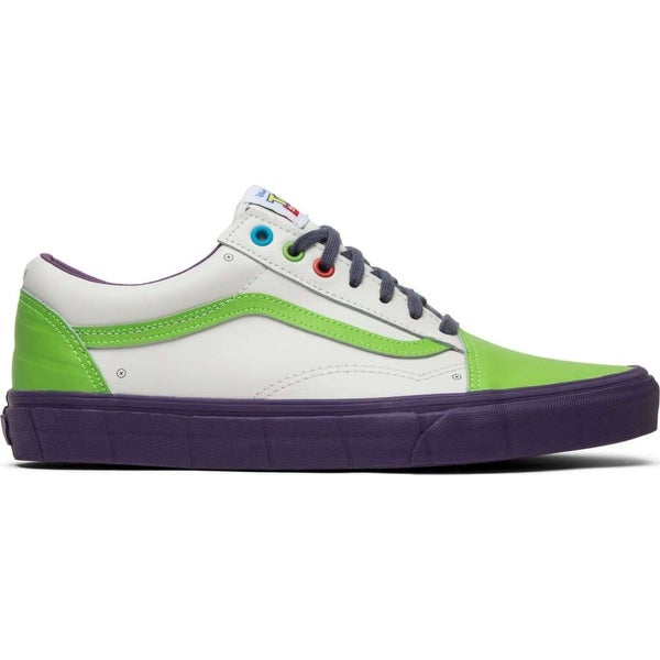 Shop Vans Mens Toy Story Old Skool Leather Low Top Lace Up