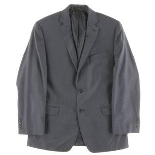 Calvin Klein Mens Two-Button Suit Jacket Wool Woven - 40R|https://ak1.ostkcdn.com/images/products/is/images/direct/1a5c683b3a18fc51626cd512a883deb043b4135e/Calvin-Klein-Mens-Two-Button-Suit-Jacket-Wool-Woven.jpg?impolicy=medium