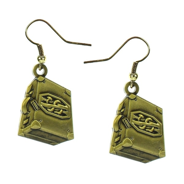 Fantastic Beasts and Where to Find Them Newt Scamander Suitecase Earrings