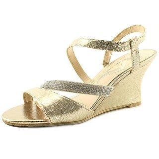 Nina Viniece Taupe Reflection Sandals