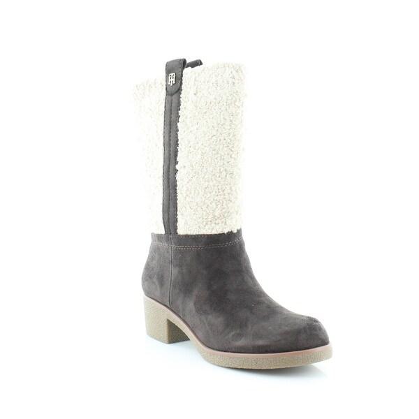 Tommy Hilfiger Ynez Women's Boots Brown Multi